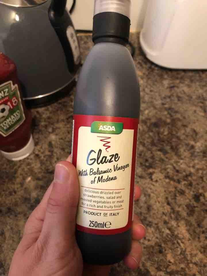 Asda balsamic vinegar glaze 250ml
