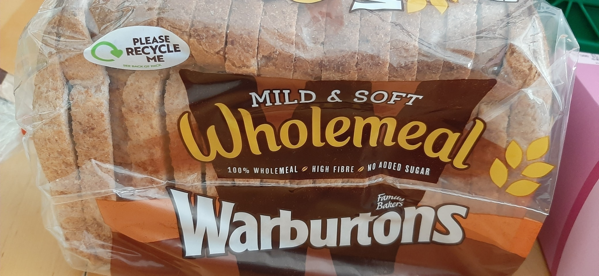 Sml wholemeal loaf