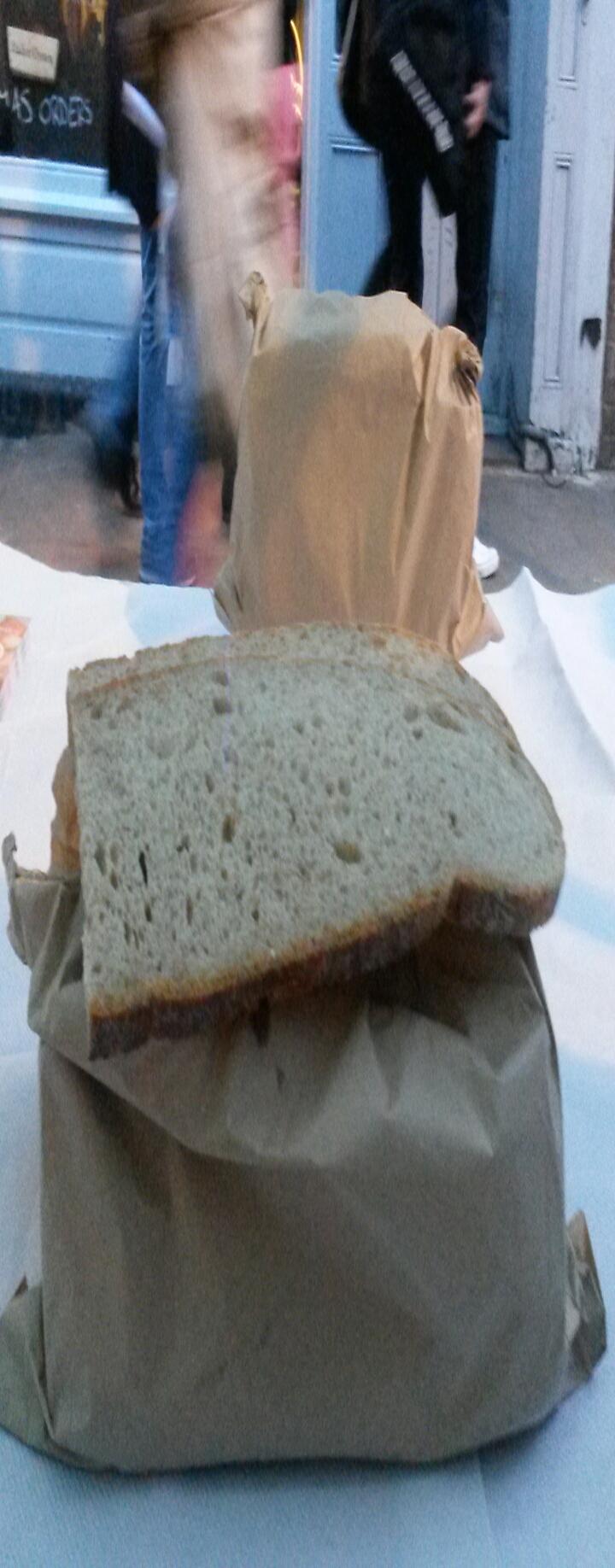 Slices of sourdough bread