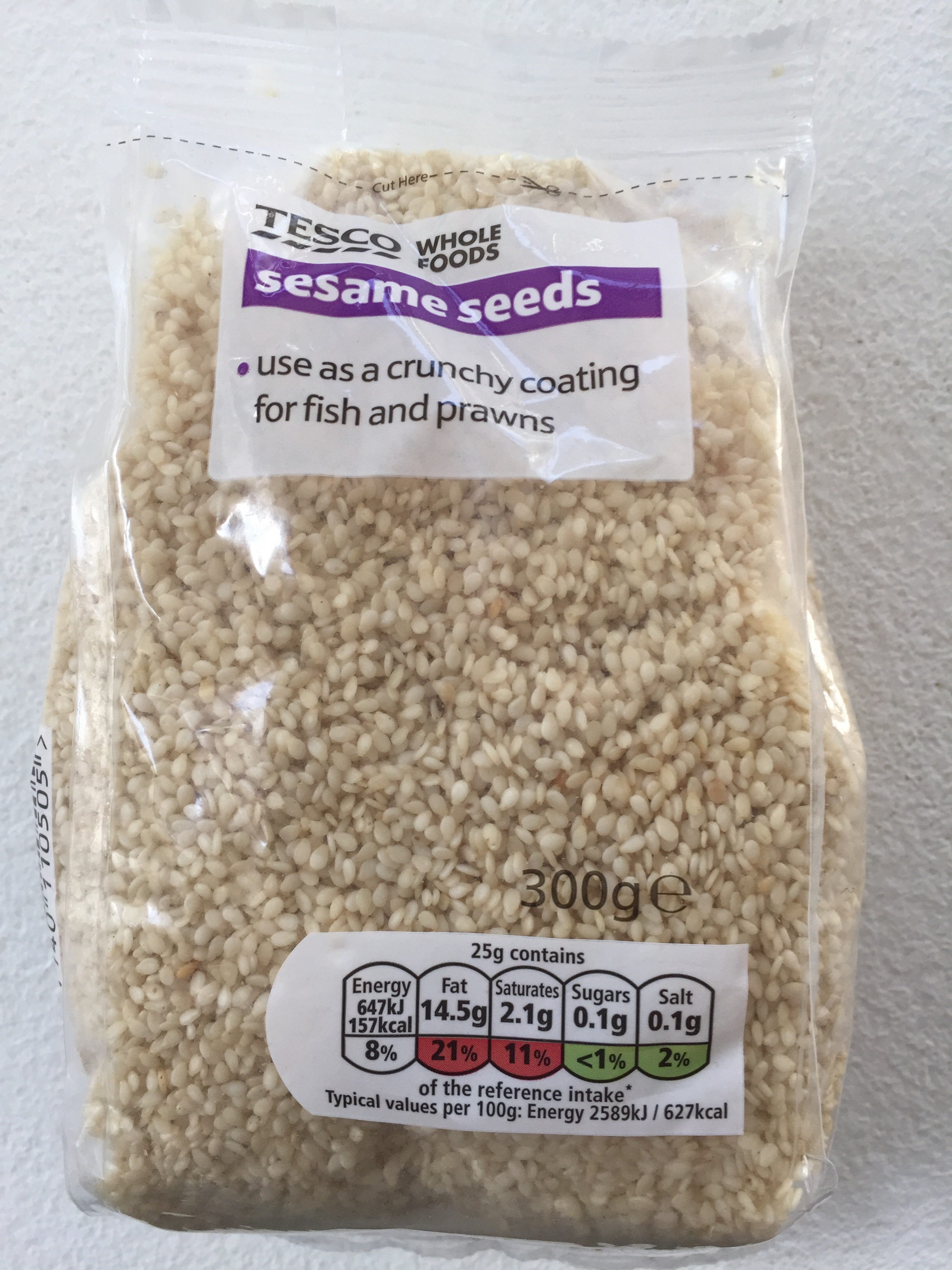 300g sesame seeds