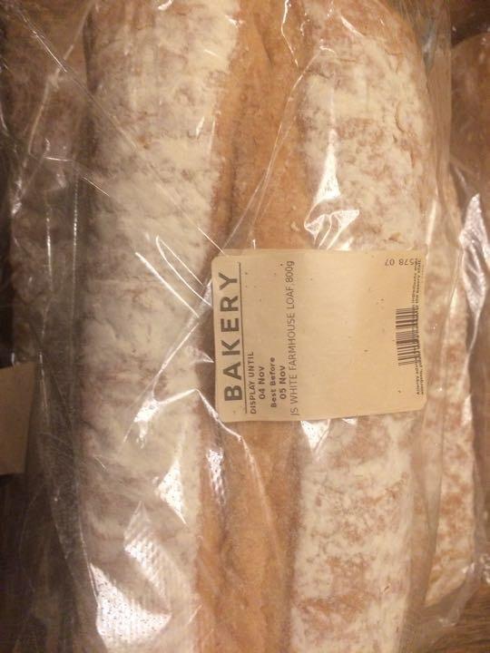 White farmhouse loaf 800g