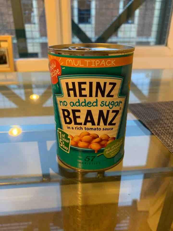 Heinz no added sugar beans