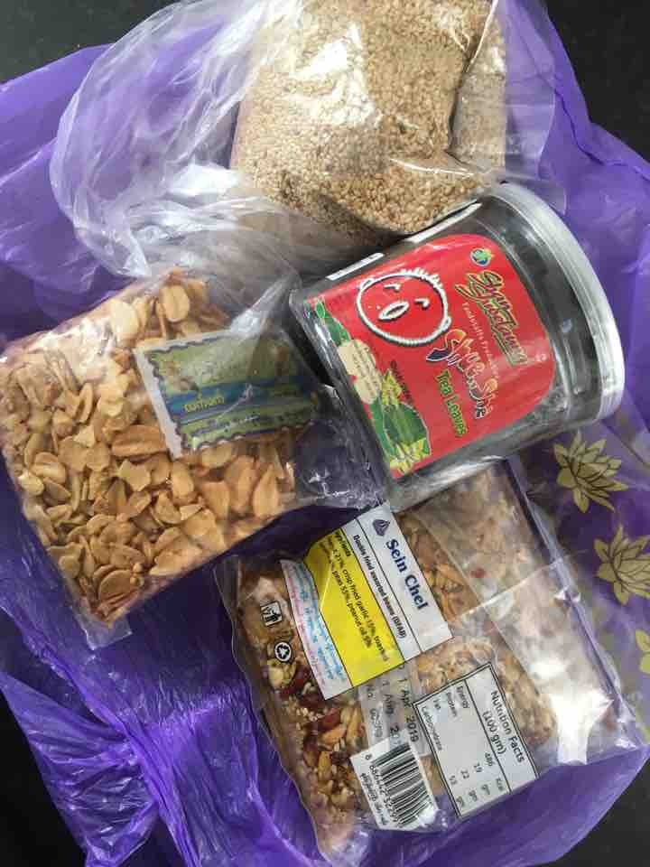 Burmese food! Lapeth traditional salad