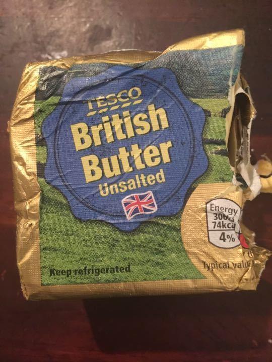 Half a block of butter