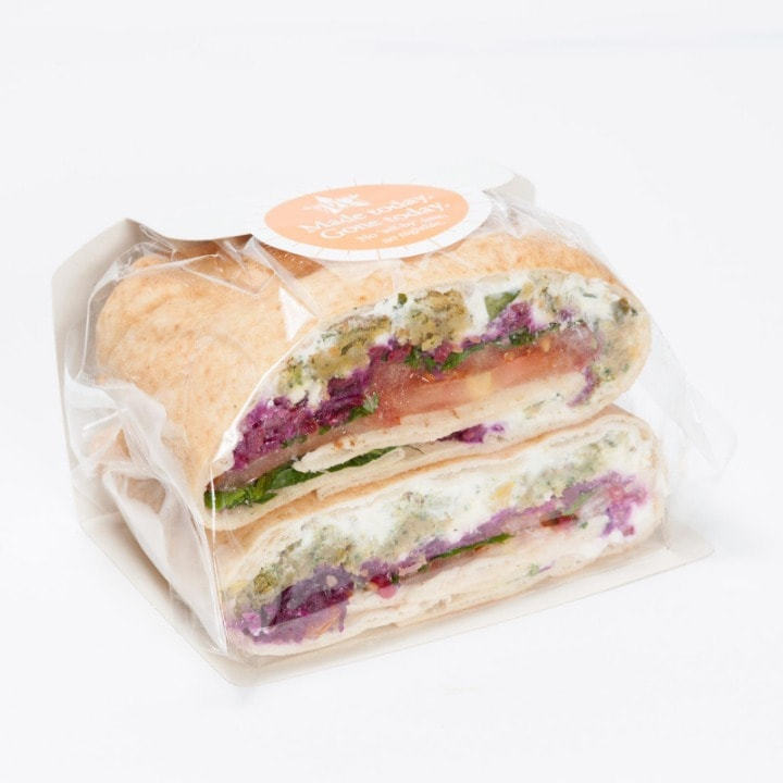 Variety of Sandwiches by Pret