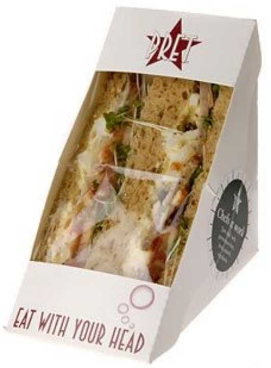 Fresh Pret-A-Manager Crayfish Sandwiches