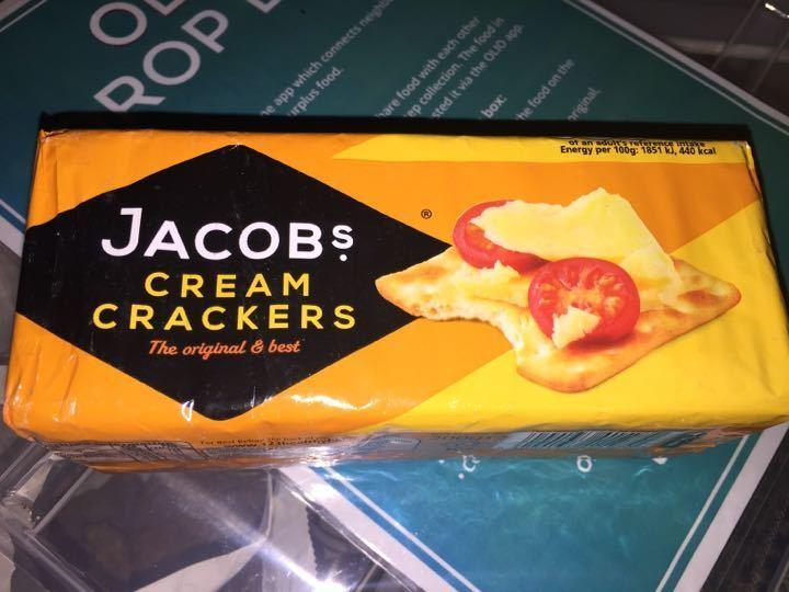 Jacob's cheese crackers
