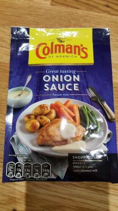 Onion sauce mix