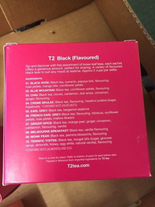 T2 Black Flavoured