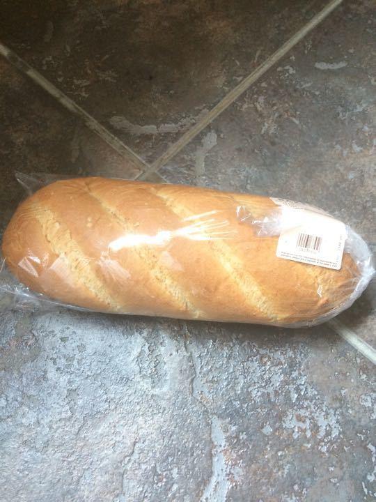 White bloomer loaf