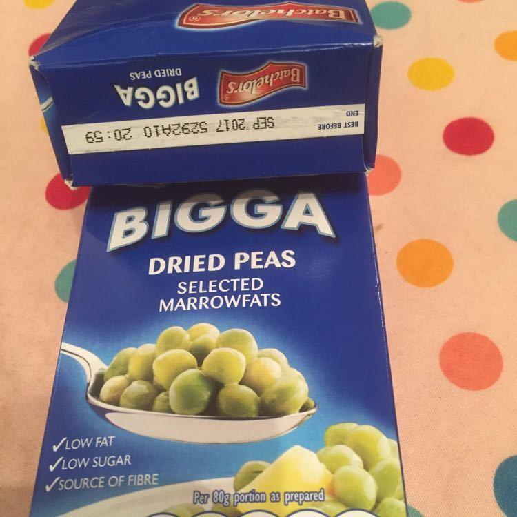 Bigga dried marrowfat peas