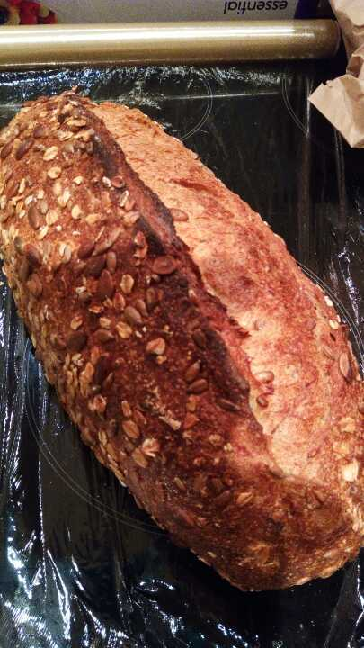 Artisan star anise fennel seeds loaf