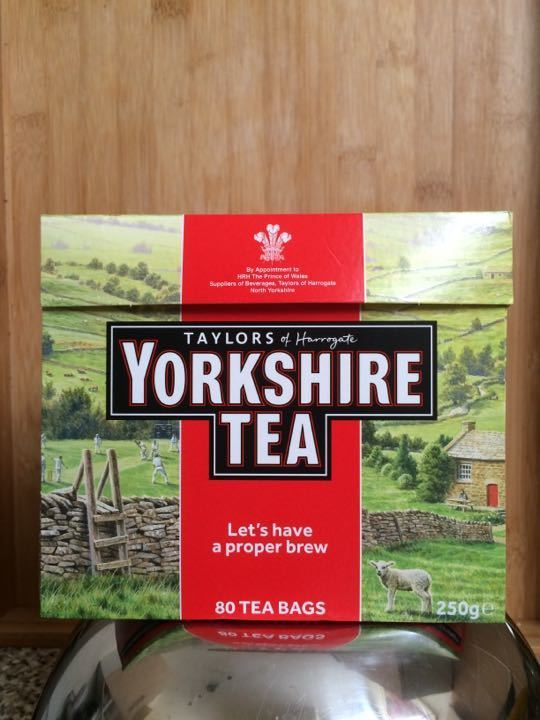 Pack of Yorkshire tea