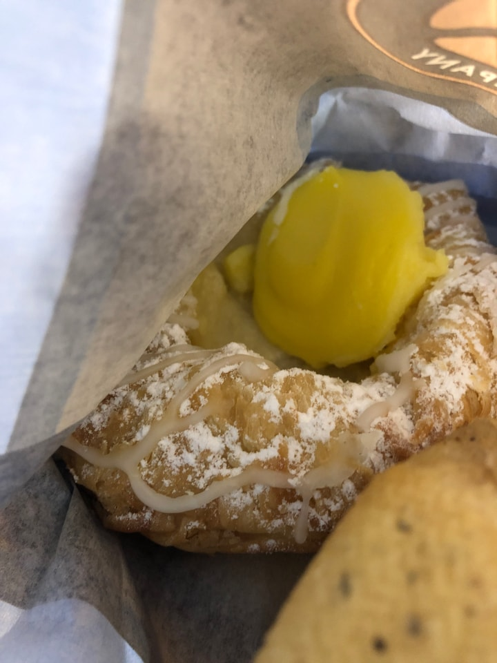Fresh pastry from Caffe Nero 3/11