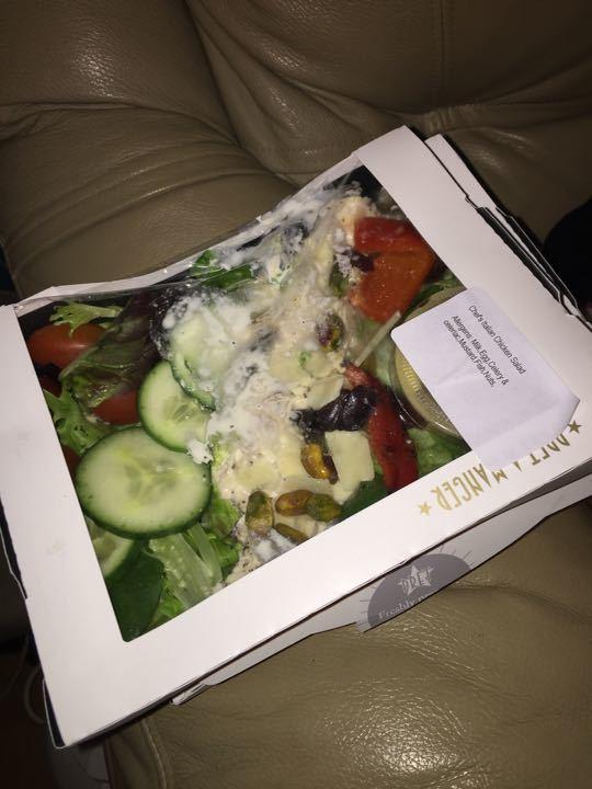 Pret chicken salads