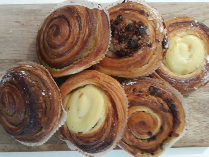Mix of pastries