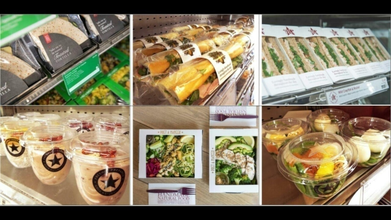 PRET A MANGER Fresh Sandwiches, Baguettes, Toasties - M16 0GA - Weds 8:30pm - 8:45pm
