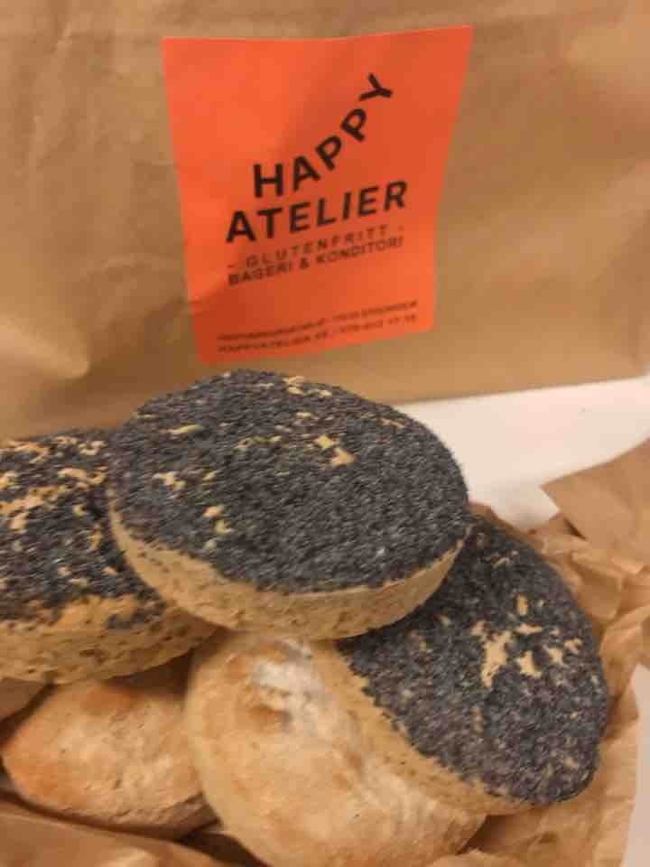 Fresh glutenfree bread from Happy Atelier (27/05)