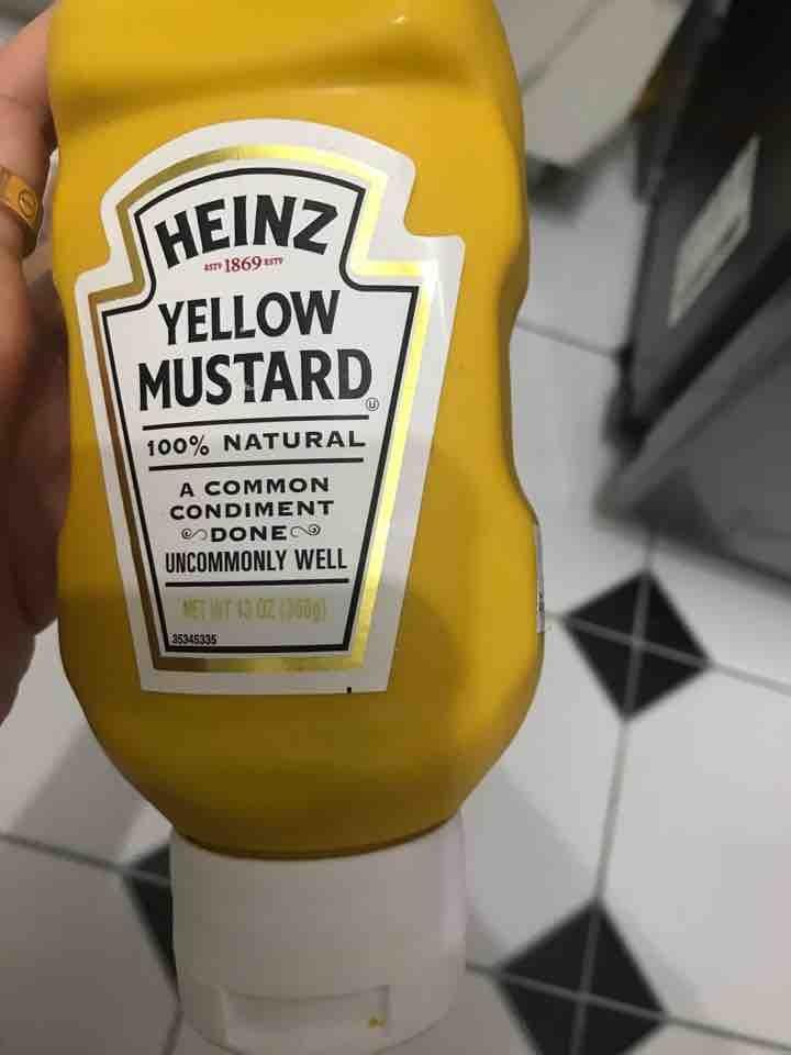 Heinz mustard kept in fridge all d while