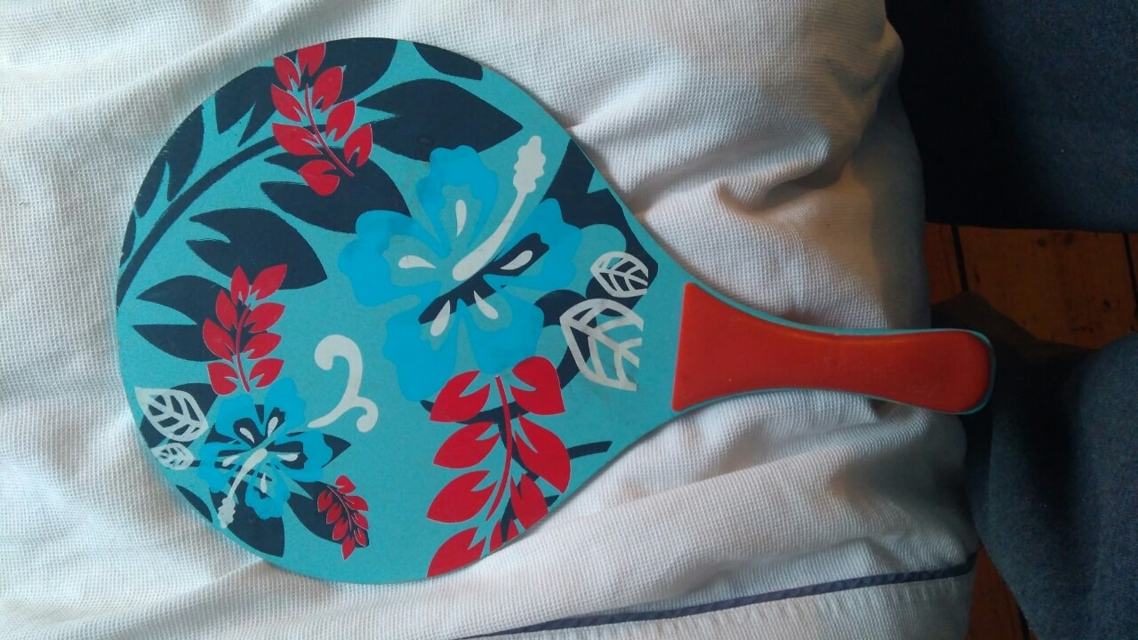 Paddle for beach ping pong games