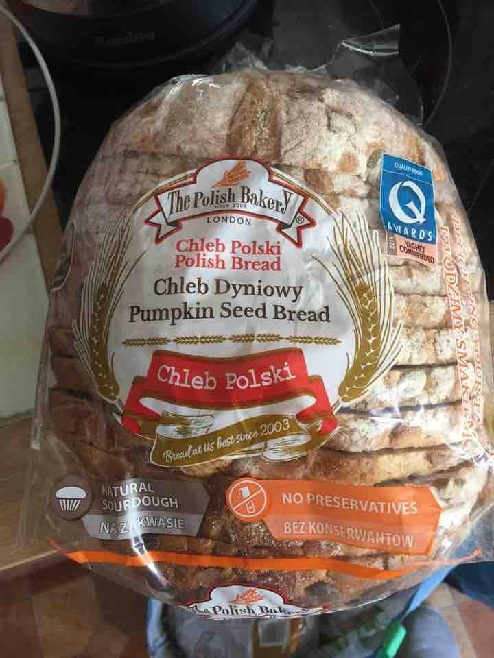 Pumpkin seed sourdough