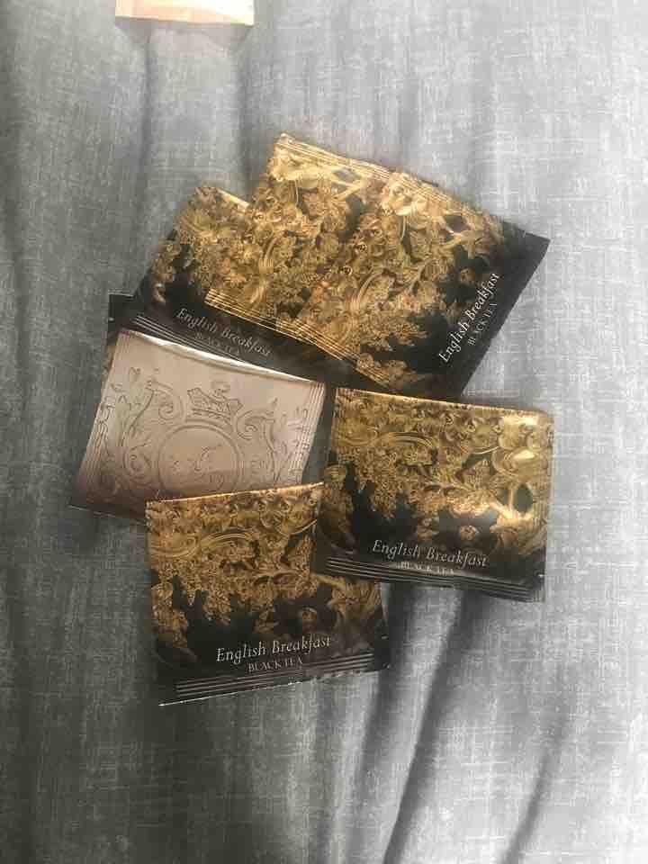 Earl grey black tea bags