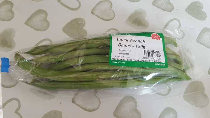 Local French Beans 150g