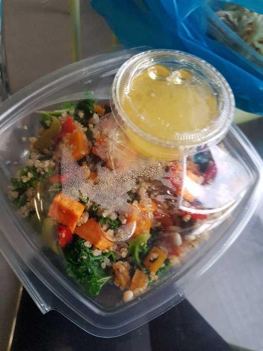 Quinoia veg salad