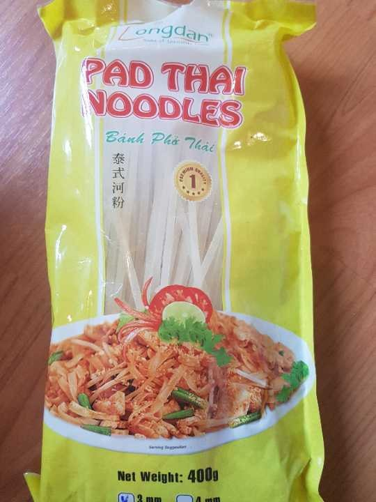 Opened Pad Thai Noodles pack