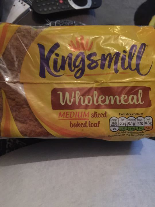 Kingmill wholemeal bread