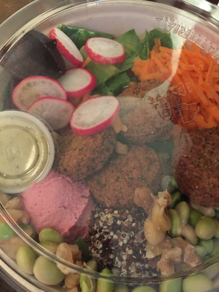 1 Mix salad 🥗 16-11-2019
