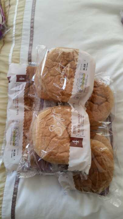 Large wholemeal baps from Alliance