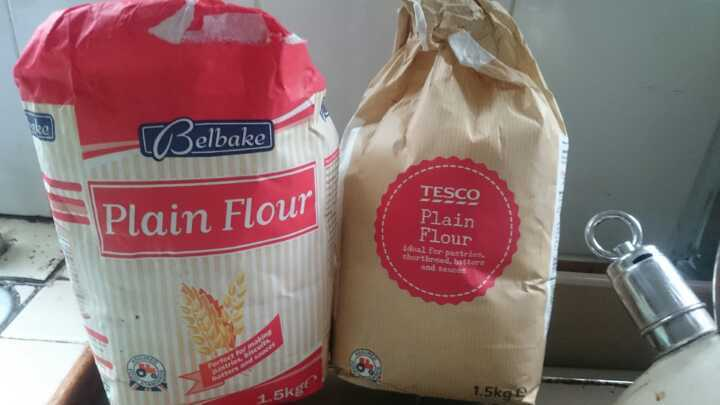 Plain flour, almost 3kg