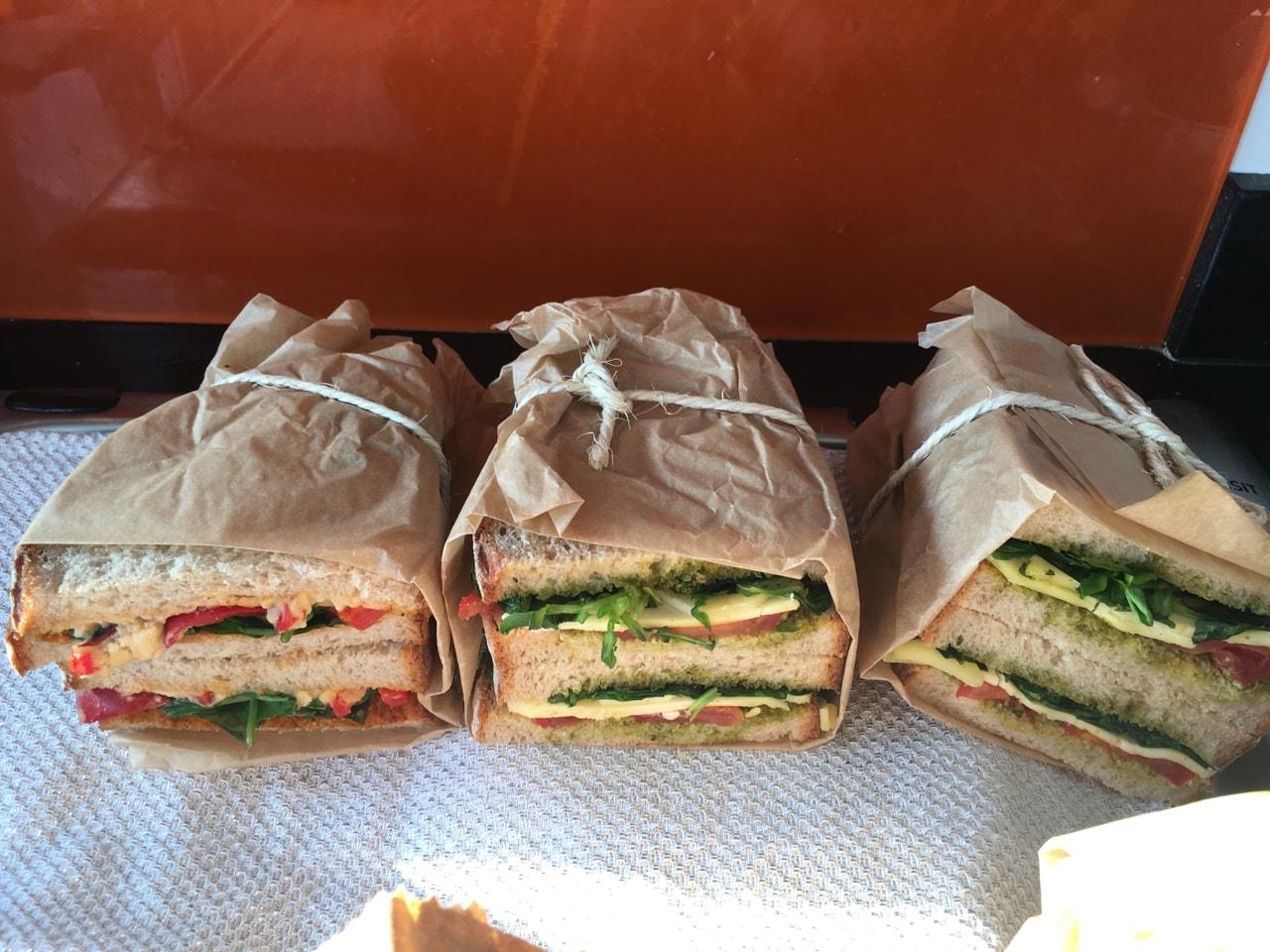 Timber Yard Seven Dials sandwich