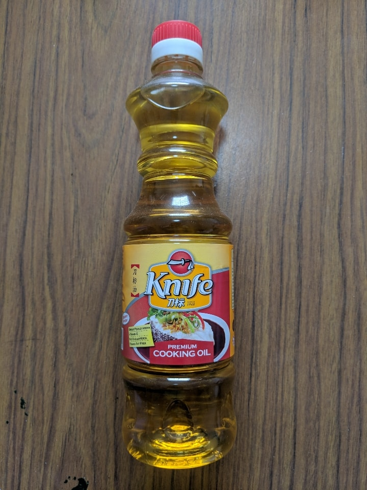 Knife cooking oil (expired 14 July 2019)