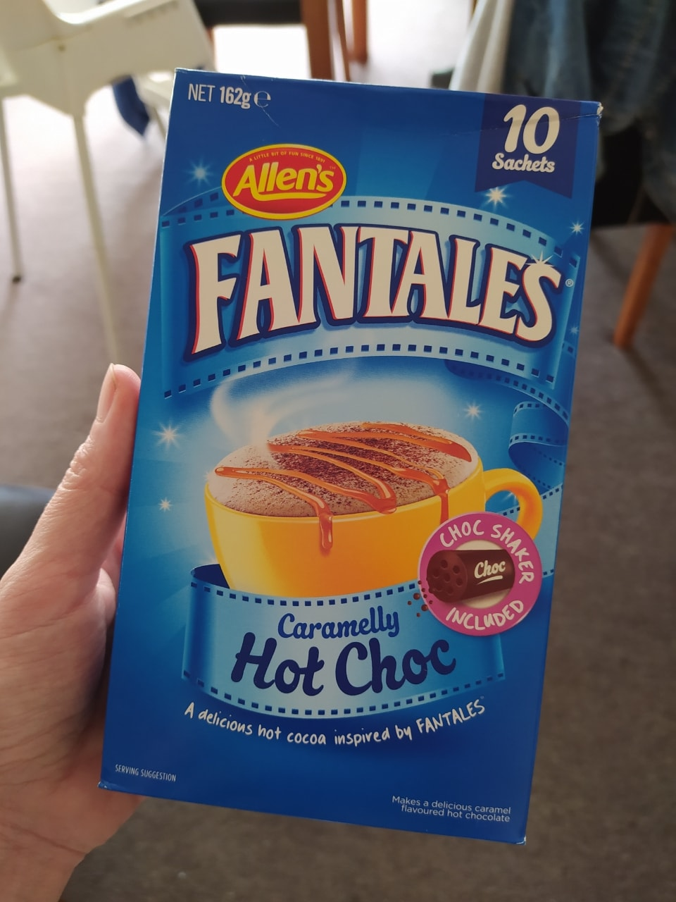 Fatales caramelly hot choc