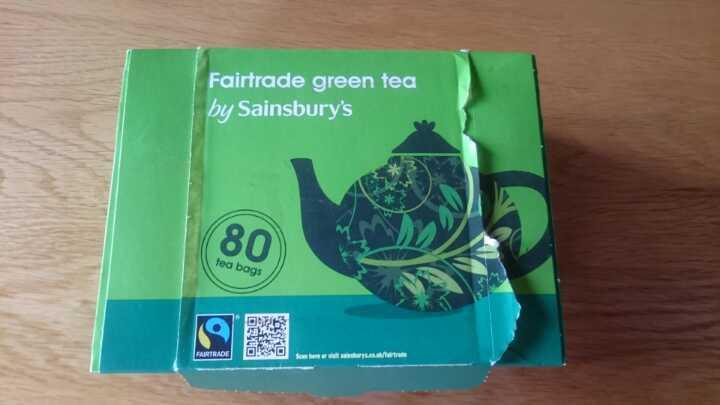 Sainsbury's green tea