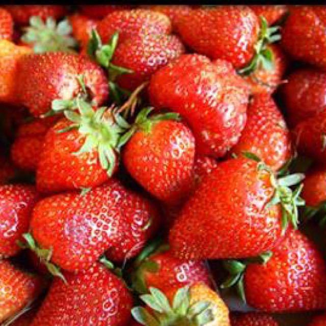 Strawberries Ripe
