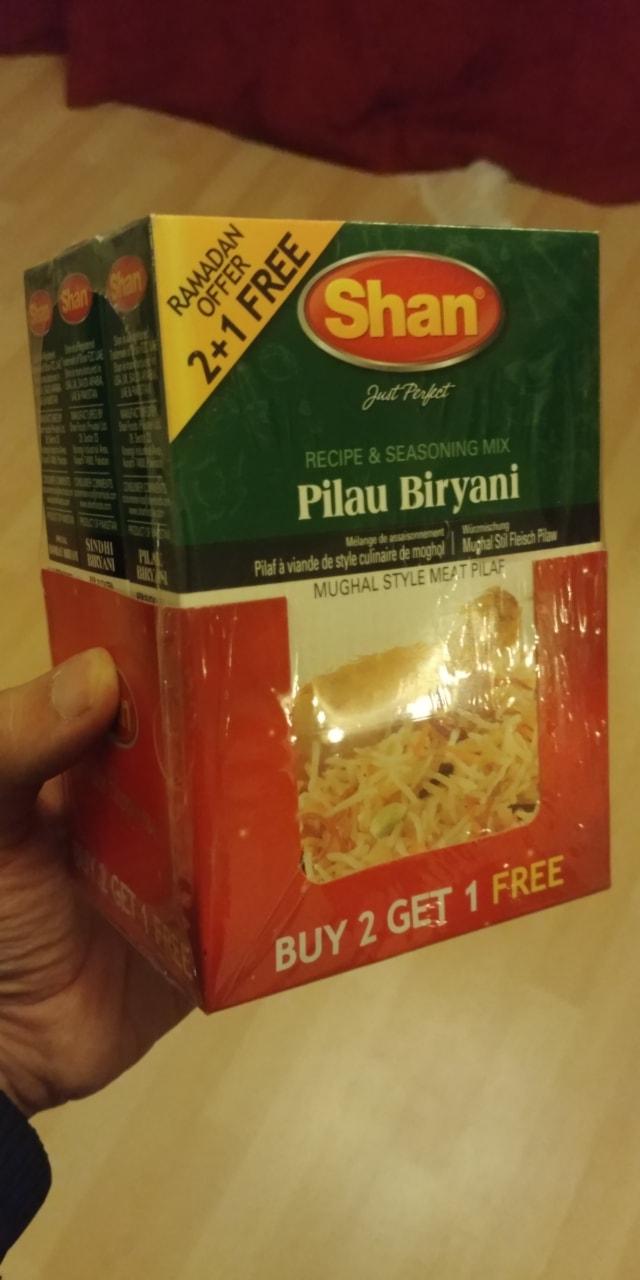 Shan biriyani seasoning mix 3 pack