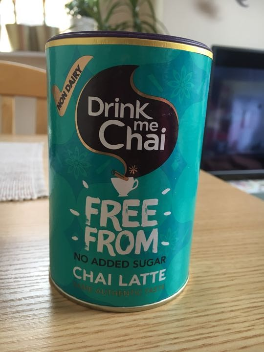 Dairy free chai latte- sugar free