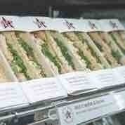 Pret A Manger Scottish smoked salmon sandwich