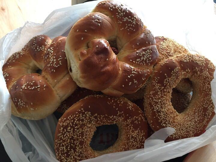 Fresh bread from Yildiz bakery today