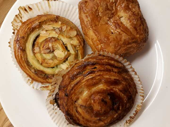 Mix of pastries
