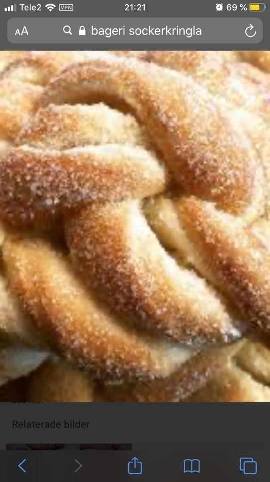 2x sugar bun from Pesso 17/4