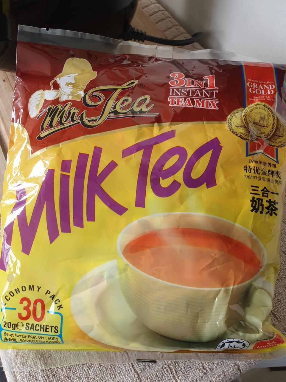 30 sachets 3 in 1 instant Milk Tea