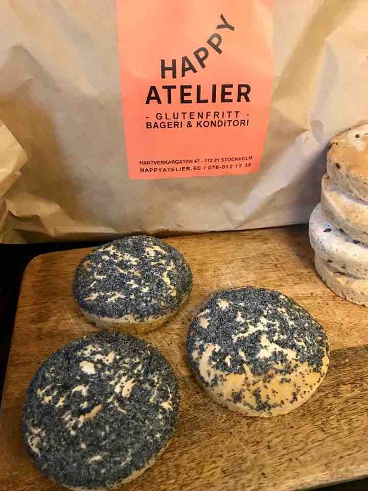 Fresh glutenfree valmofrallor from Happy Atelier (23/05)
