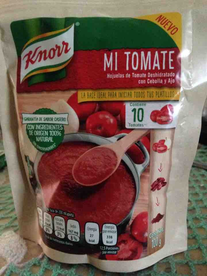 Mi tomate knorr