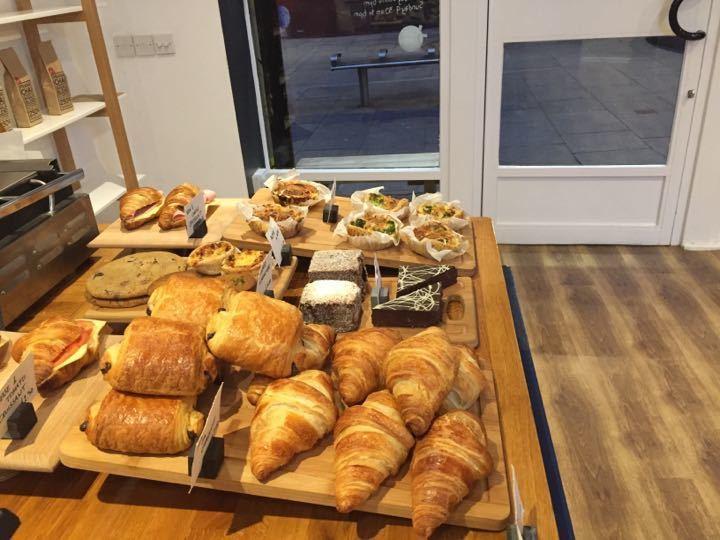 Pastries & sandwiches