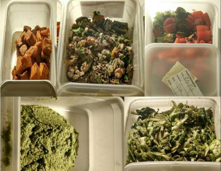 Fresh Vegetables and Sweet Potatoes (Mae Deli)