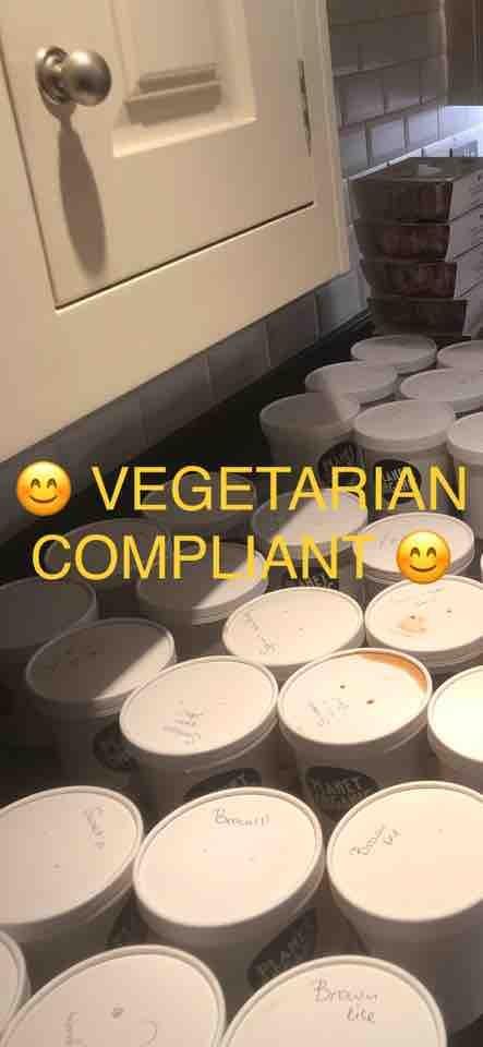 ❗️CHANGE TO TIMING❗️💫🎉 Planet Organic distribution tonight:  Vegetarians 🍳🥦🍼🥑